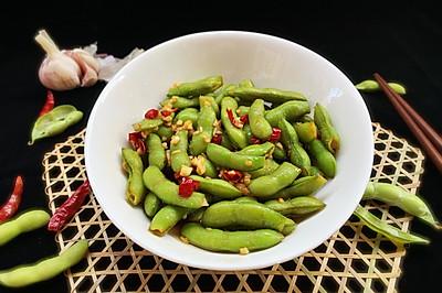 #爽口凉菜,开胃一夏!#凉拌毛豆