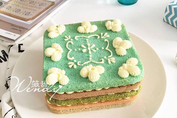 彩虹戚风蛋糕的做法