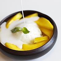芒果椰汁糯米饭的做法图解9