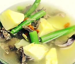 猪心双笋汤的做法