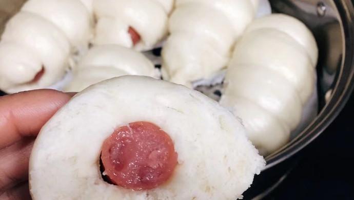 能和五芳斋早餐媲美的香肠包