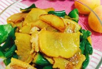 青椒土豆片炒肉的做法