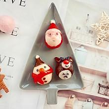 #令人羡慕的圣诞大餐#萌萌哒圣诞汤圆组合