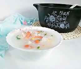 海鲜砂锅粥(宝宝辅食)的做法