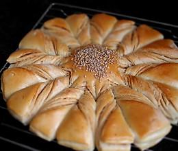 扭纹花式面包的做法