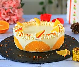 香橙酸奶慕斯蛋糕的做法