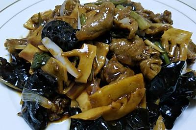 老清真菜——炒肉片