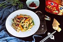 #把金牌大厨带回家#姜葱炒蛏子的做法