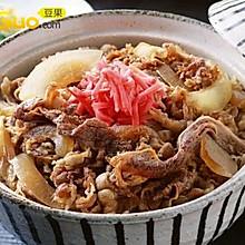 日本松屋牛肉饭