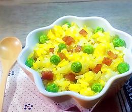 香肠蛋炒饭#急速早餐#的做法