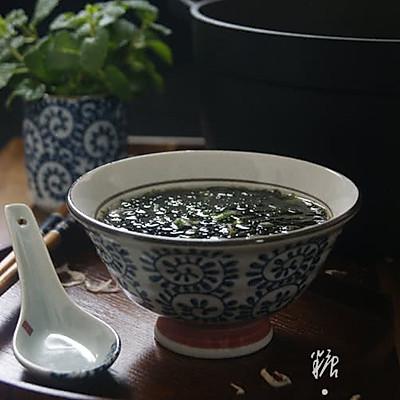 【紫菜虾皮汤】如何让紫菜汤更鲜美?更有营养!!