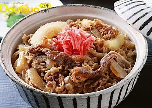日本松屋牛肉饭的做法