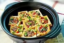 砂锅酿豆腐的做法