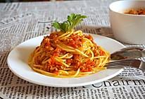 浪漫的盛宴,番茄肉酱意大利面的做法