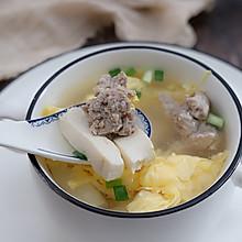 鴨蛋豆腐湯