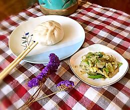干菜叶包子的做法