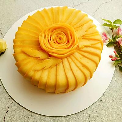 唯美芒果蛋糕