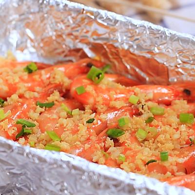 蒜蓉烤大虾—迷迭香