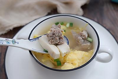 鸭蛋豆腐汤