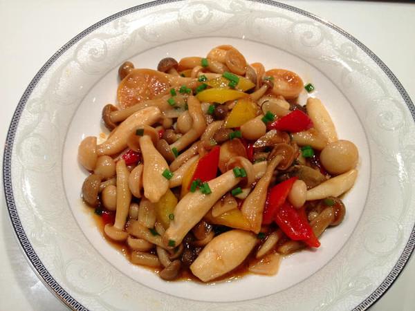 蚝油鲜菇的做法