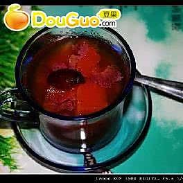 木瓜红枣饮的做法