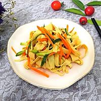 #爽口凉菜,开胃一夏!#凉拌豆腐皮的做法图解14