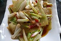 炒莴笋的做法