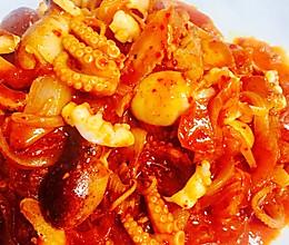 韩式五花八爪鱼的做法