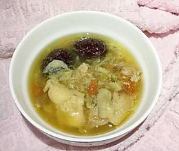 榴莲肉煮鸡汤的做法