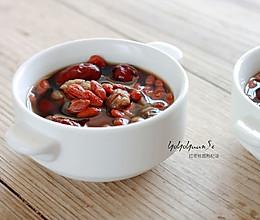 红枣桂圆枸杞汤的做法