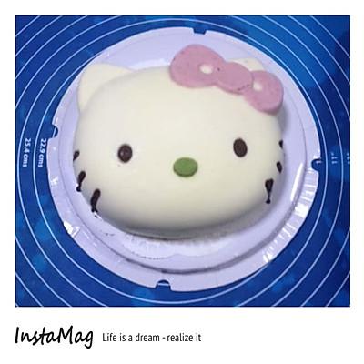 hello kitty慕斯凍芝士蛋糕