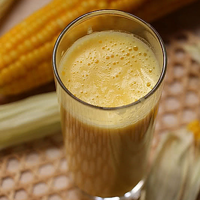 清理肠胃好帮手【香浓玉米汁】