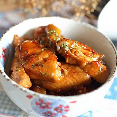 鸡翅,我爱甜辣口~