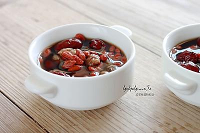 红枣桂圆枸杞汤