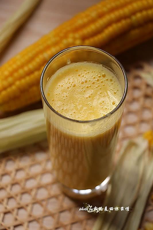 清理肠胃好帮手【香浓玉米汁】的做法