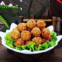 #新年开运菜,好事自然来#团团圆圆的香炸猪肉豆腐丸子的做法图解20