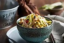 韭黄豆豉炒肉丝的做法