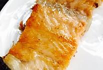 【无油超健康】椒盐干煎三文鱼骨的做法