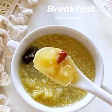 ㊙️秋季调理身体不能少的养生粥‼️小米苹果粥‼️