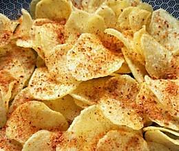 炸薯片的做法