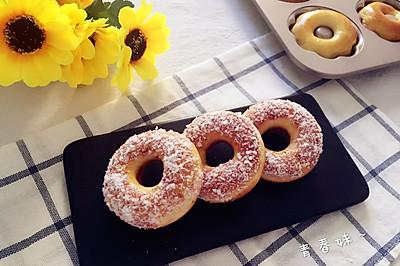 甜甜圈面包