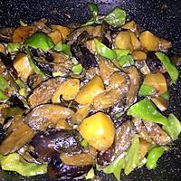 东北炖-土豆茄子大尖椒的做法图解5