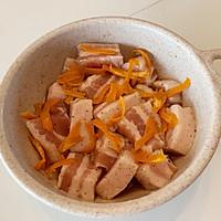 橙香五花肉的做法图解8
