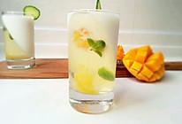 蜂蜜柠檬果冻佐芒果酸奶——独家首创的做法