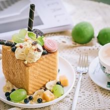 冰火两重天的青柠酱冰淇淋厚多士
