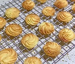 酥到掉渣的原味香酥黄油曲奇的做法