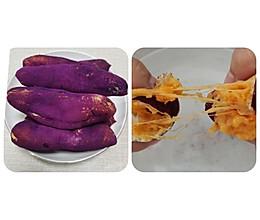 小谭烘焙~拉丝紫薯面包的做法