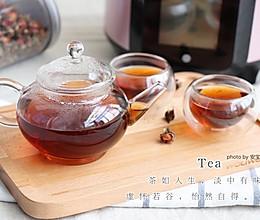 玫瑰养颜茶的做法
