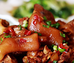 开胃又美容:慢炖五香香辣猪蹄猪手猪脚的做法