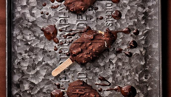 巧克力脆皮雪糕,小时候吃不起的梦龙